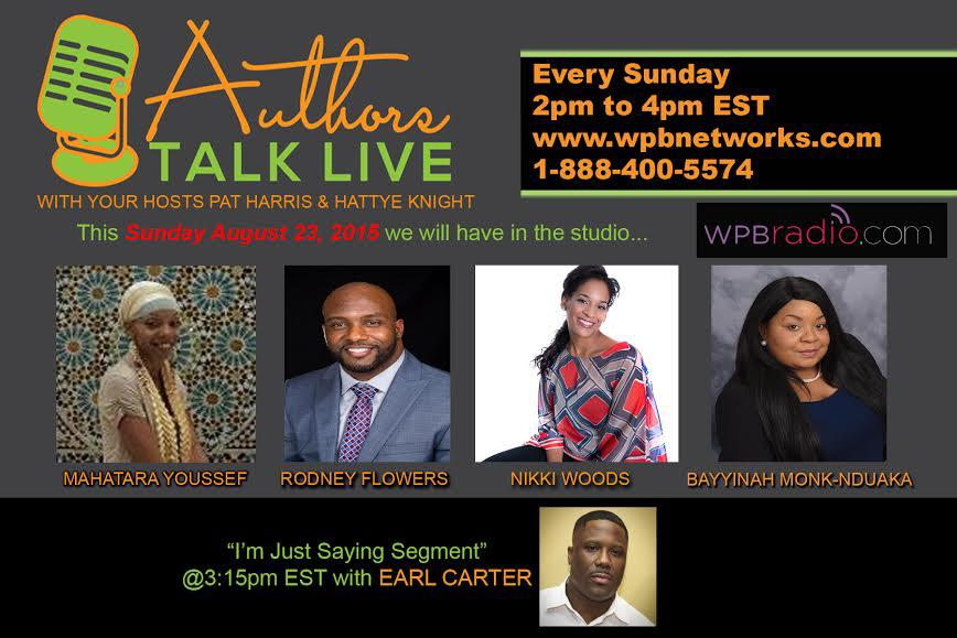 Authors Talk Live Radio Show