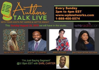 Authors Talk Live Radio Show