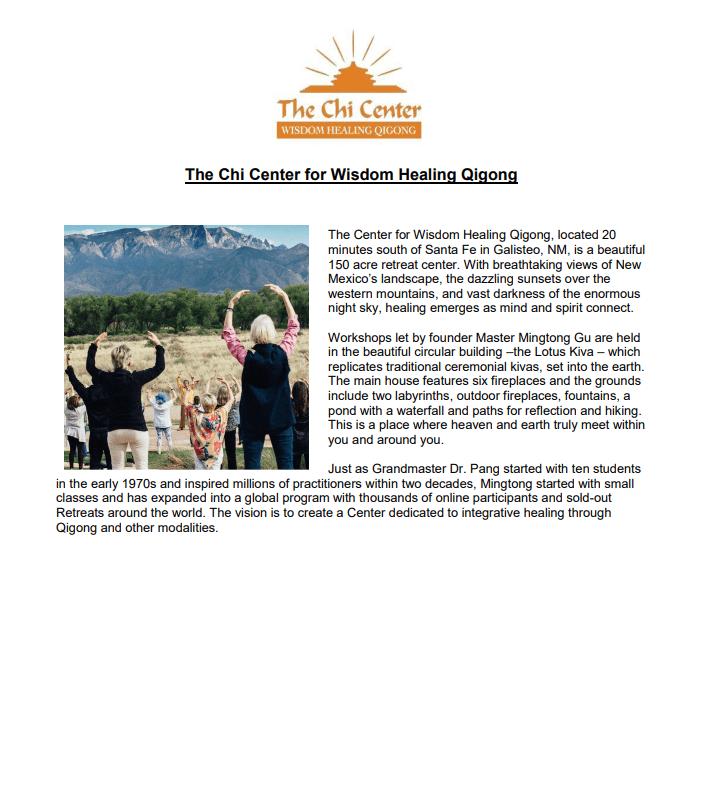 GCM 158 | Wisdom Healing Qigong